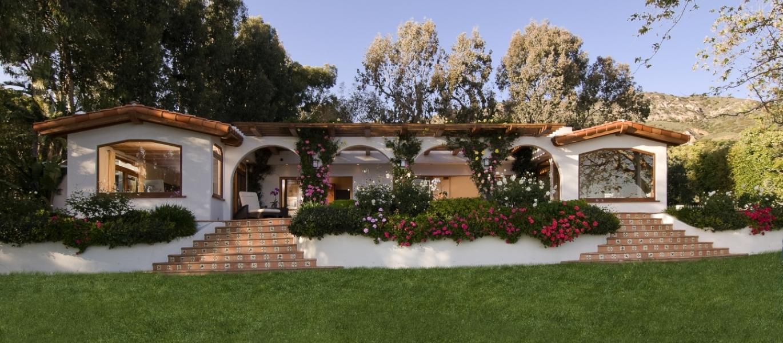 Malibu mediterranean view estate past leases listings for Piani casa hacienda