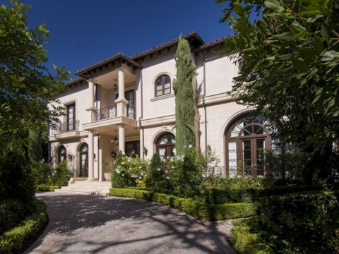 Beverly Hills Tuscan Villa
